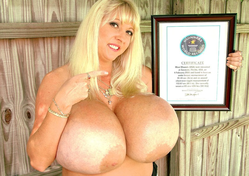 Photo of Las tetas mas grandes del mundo