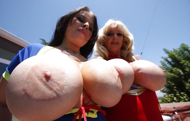 Photo of preciosas putas tetonas Dapnhe Rosen y Tia Gunn