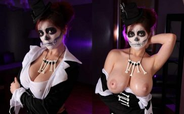 sexi tetona Tessa Fawler halloween